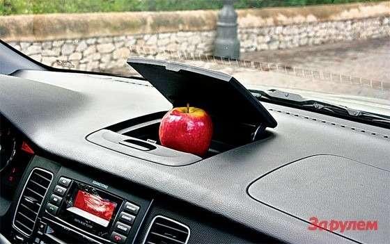 SsangYong New Actyon: Яблоко вкомплектацию автомобиля не входит.