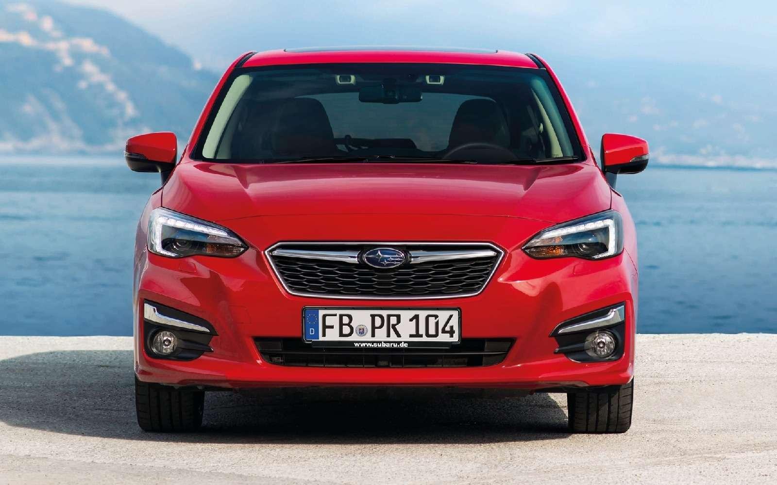 Новая Subaru Impreza— анонсирована европейская премьера— фото 770867