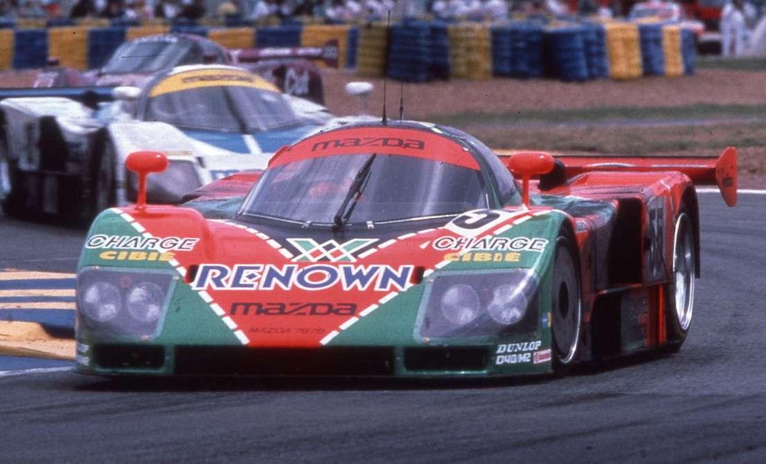 Mazda-787B— победитель «24часов ЛеМан» 1991 года (экипаж Вейдлер/Герберт/Гашо). Автомобиль подготовлен поГруппе С.