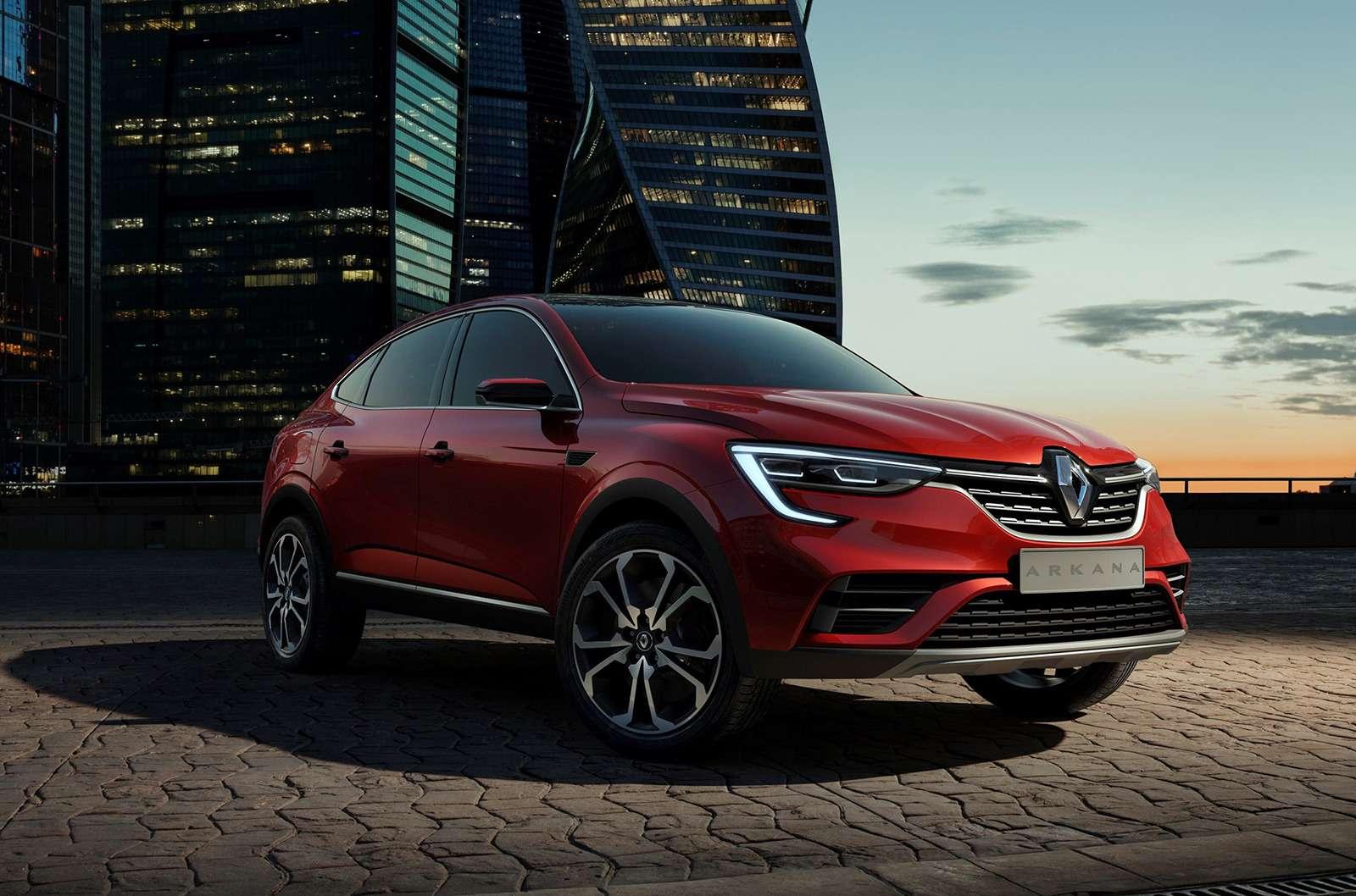 Renault Arkana: рассматриваем новый кроссовер совсех сторон— фото 905670