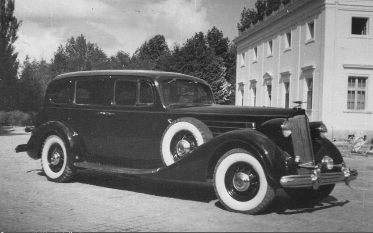 Packard Twelve: любимая машина Сталина— фото 1227311