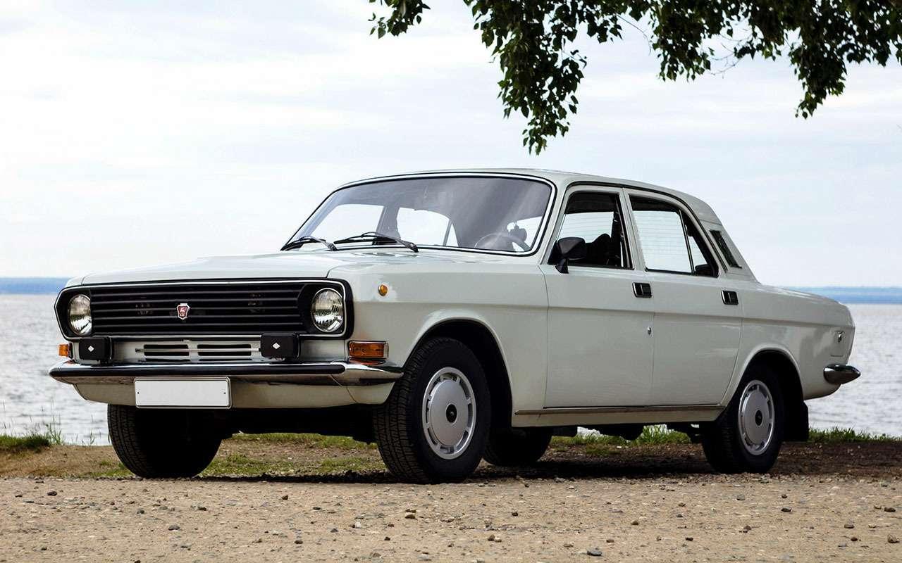 Случайная Волга: 10удивительных фактов оГАЗ-24-10— фото 1096842