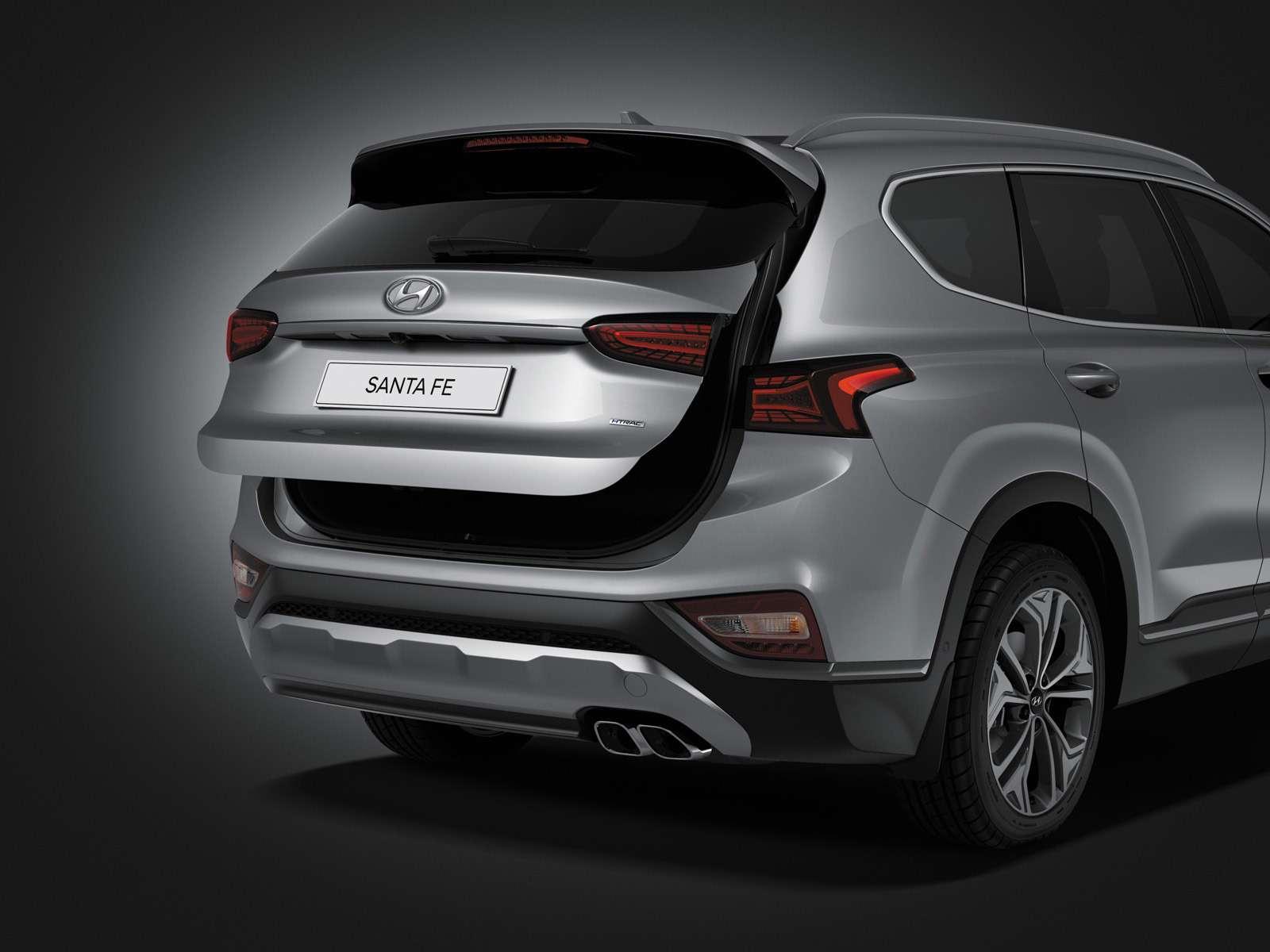 Новый Hyundai Santa Fe: российские цены икомплектации— фото 893450
