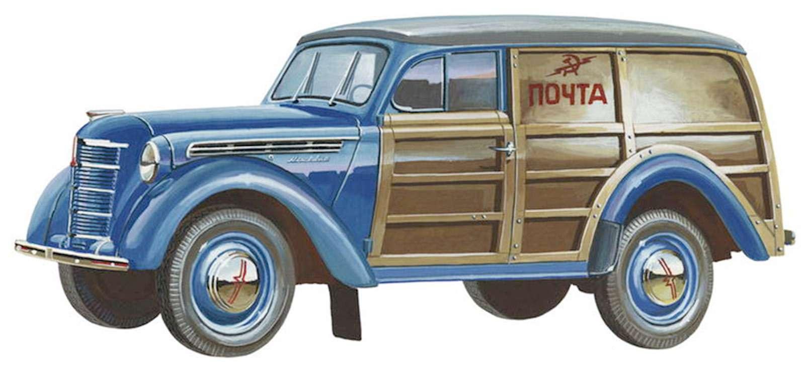 УАЗ«Баклан», деревянный Москвич идругие— фото 722874