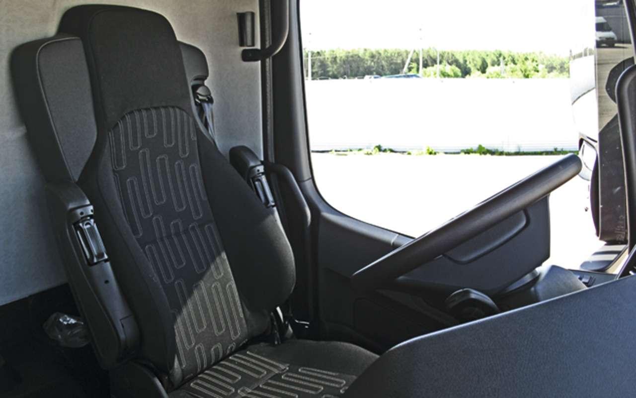 Mercedes Arocs российской сборки— детальный обзор— фото 1279169