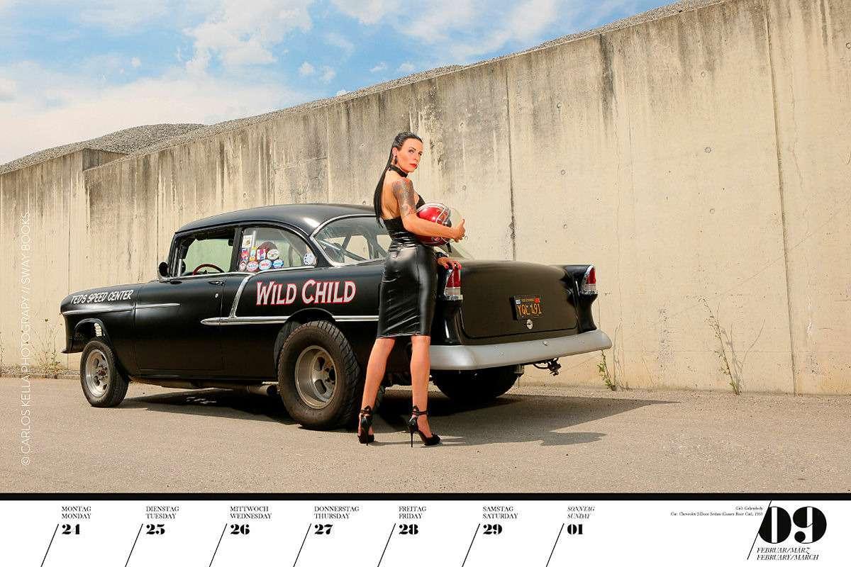 16красоток и29легендарных тачек Америки— ваш календарь-2020— фото 1003764