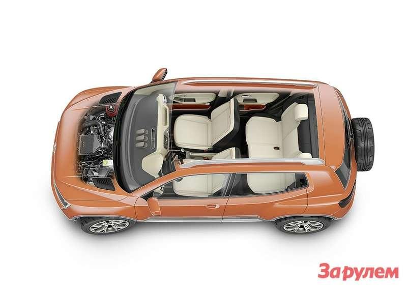 Dieneue Volkswagen SUV-Studie Taigun
