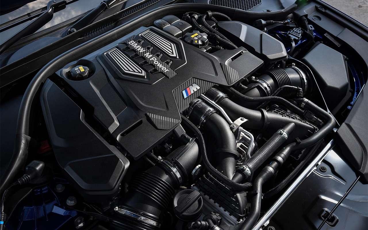 BMWM5— первый тест-драйв— фото 863745