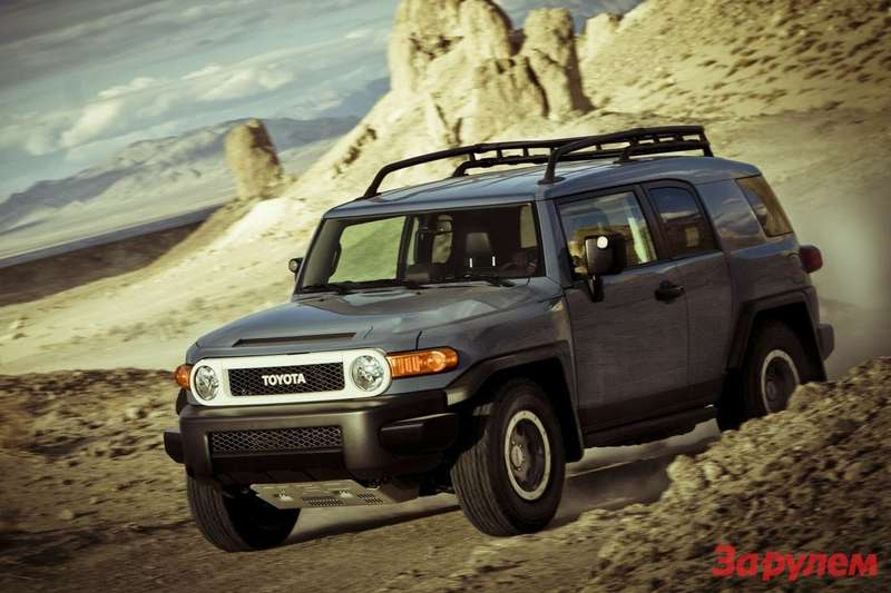 Toyota FJ Cruiser Trail Teams Ultimate Edition