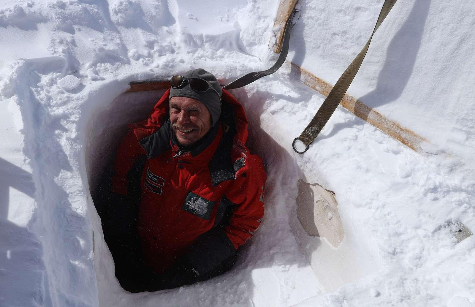 Есть рекорд: самый длинный автопробег через Антарктиду— фото 958580