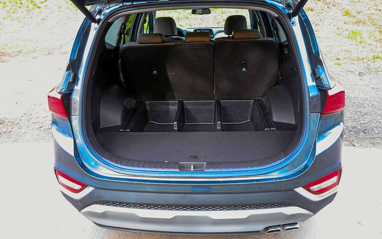 Hyundai Santa Feпротив конкурентов: большой тест кроссоверов— фото 931486