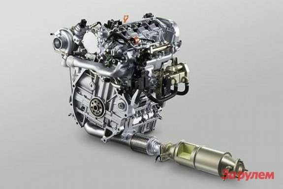 Honda Earth Dream Technology diesel engine