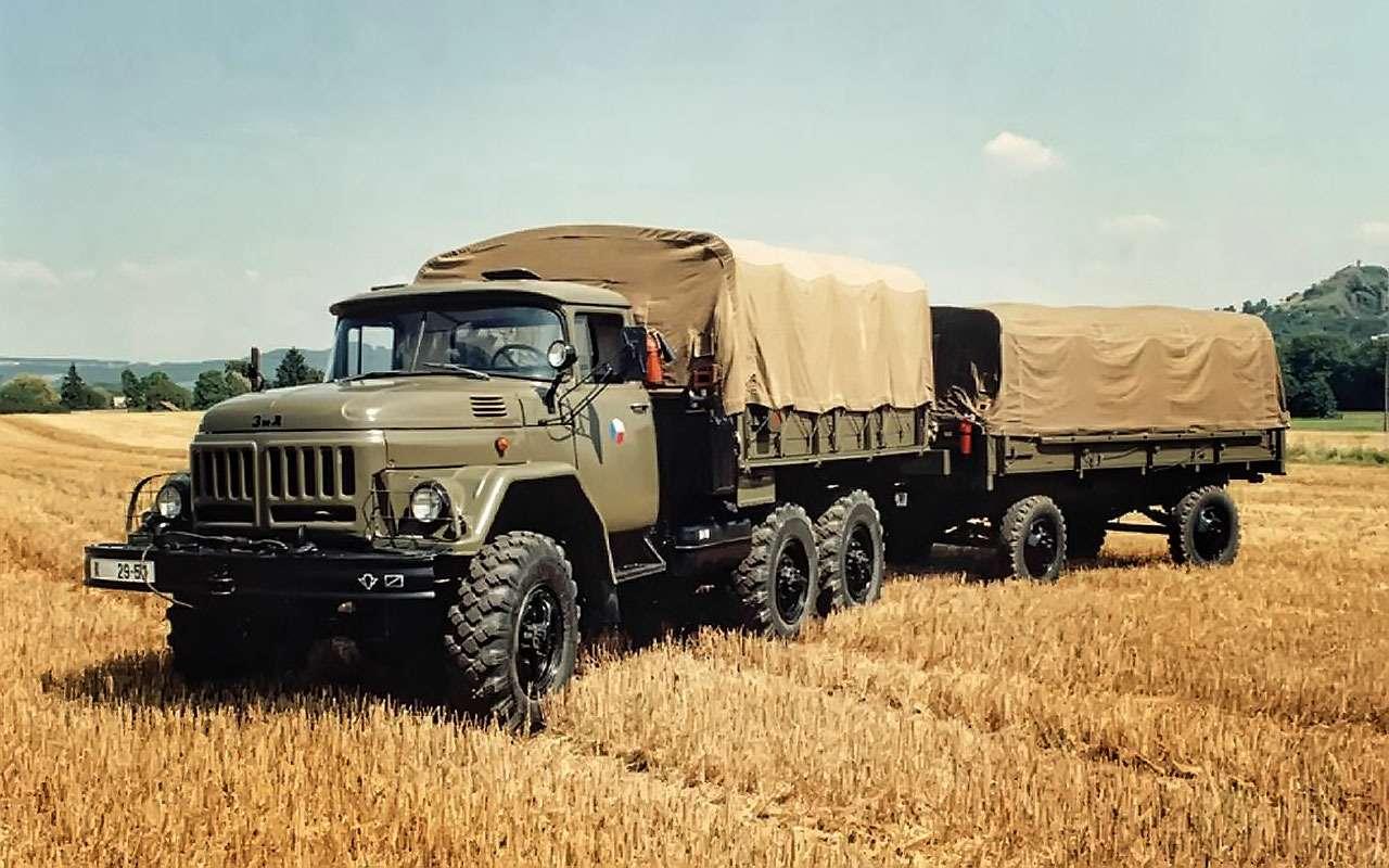 Армейский ЗИЛ-131