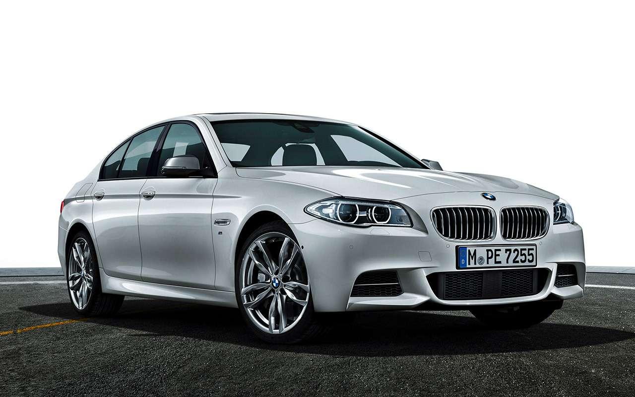 BMW5‑й серии (F10): полный список проблем— фото 1180708