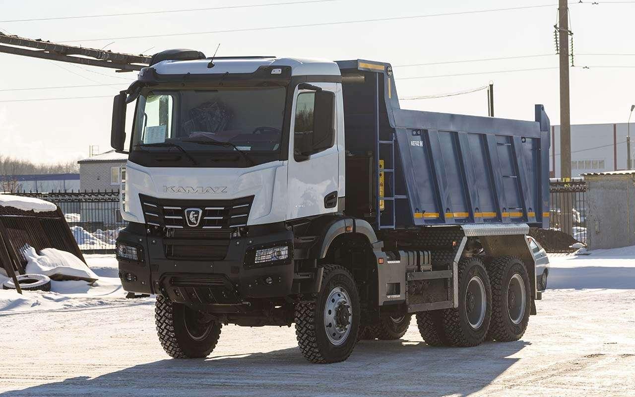 КАМАЗ-6595— лучший среди строительных грузовиков— фото 1277710