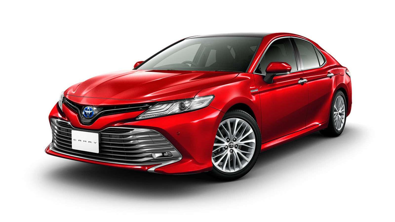 Новая Toyota Camry дляРоссии— первые изображения— фото 819226