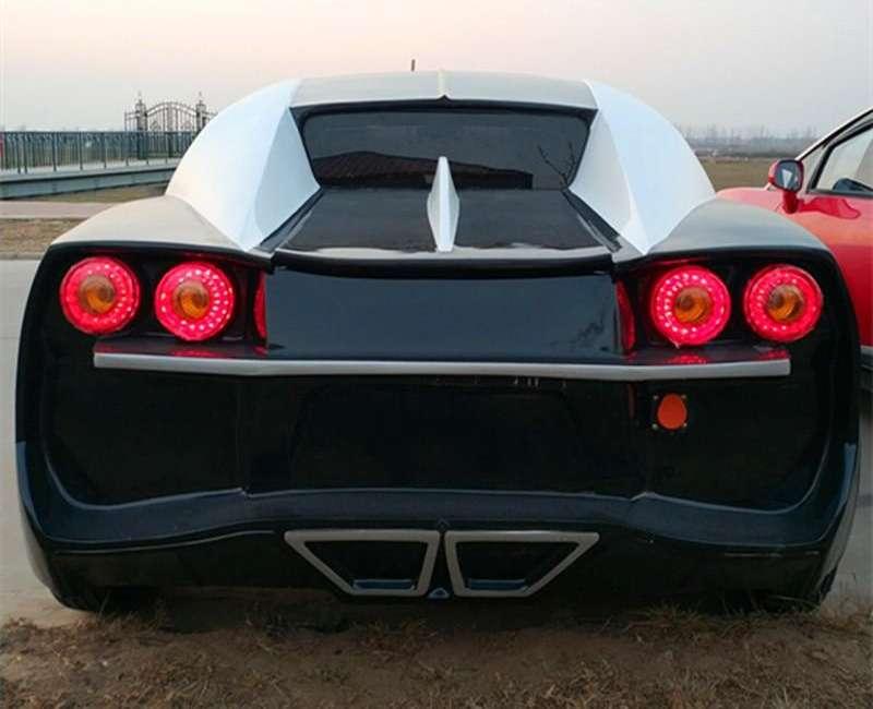 Китайская копия Bugatti Chiron. Всего 5000 баксов, нос3,35-сильным мотором— фото 870425