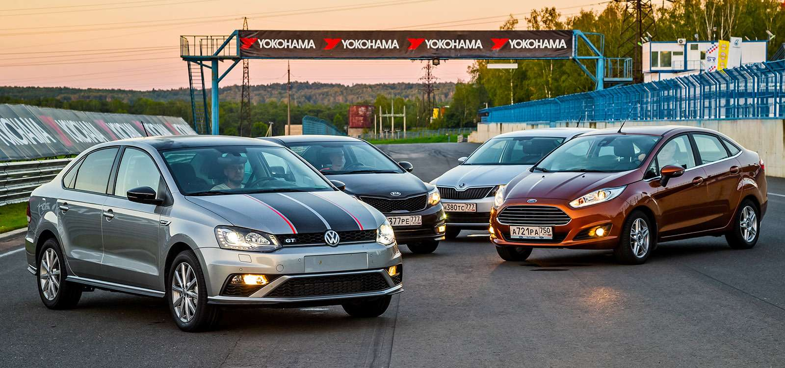 VWPolo GTпротив конкурентов: тест на«Смоленском кольце»— фото 644212