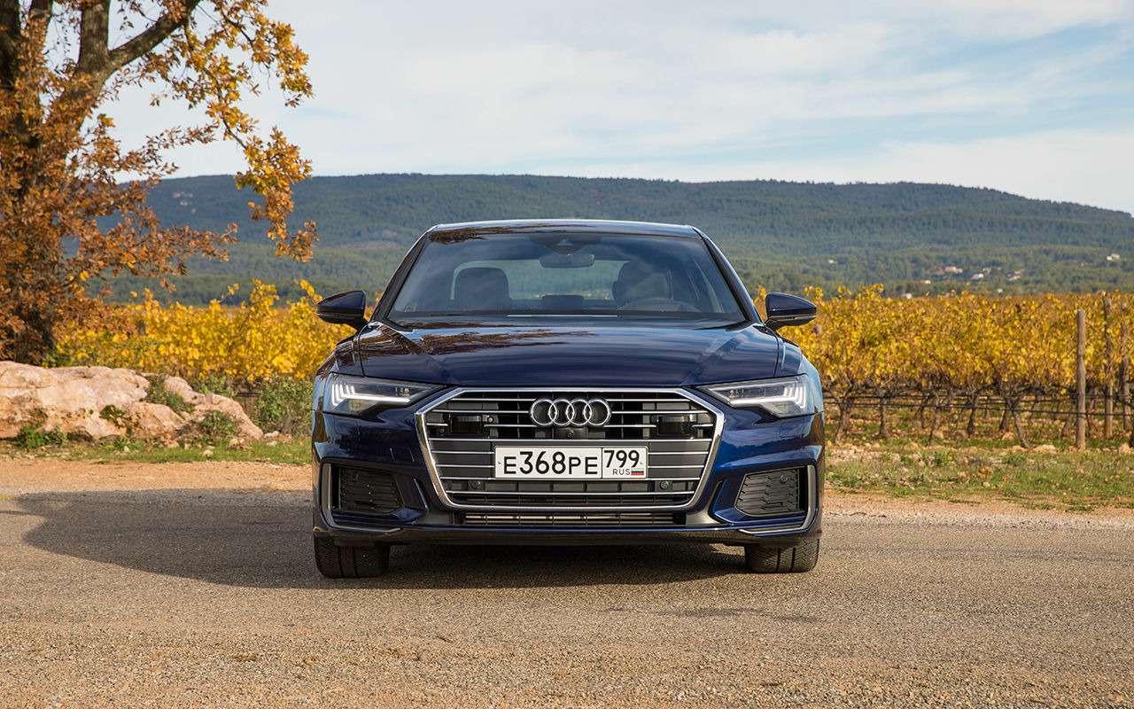 Audi везет вРоссию новые модификации A6— фото 1037768
