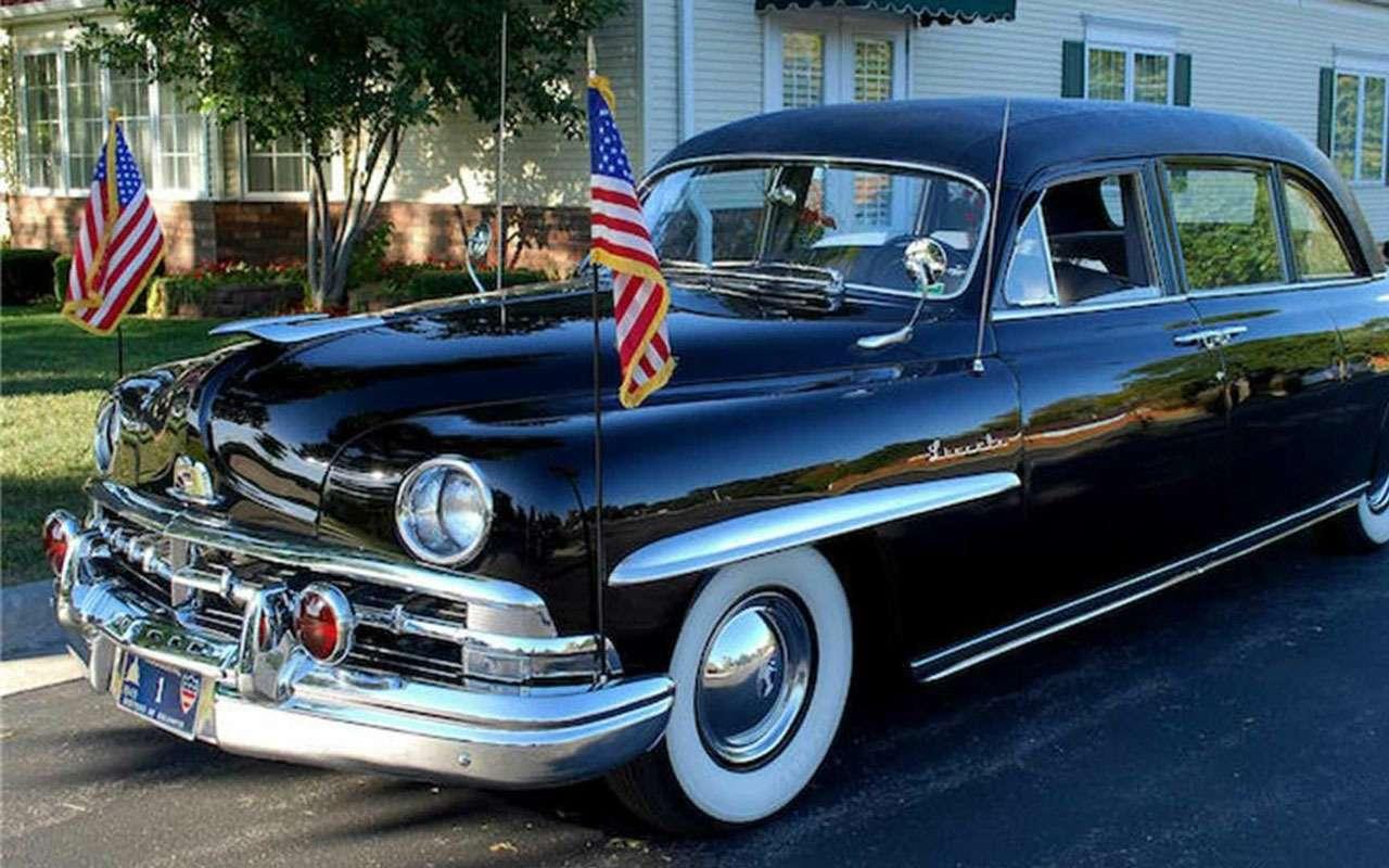 Продается первый лимузин президента США - фото 1167390