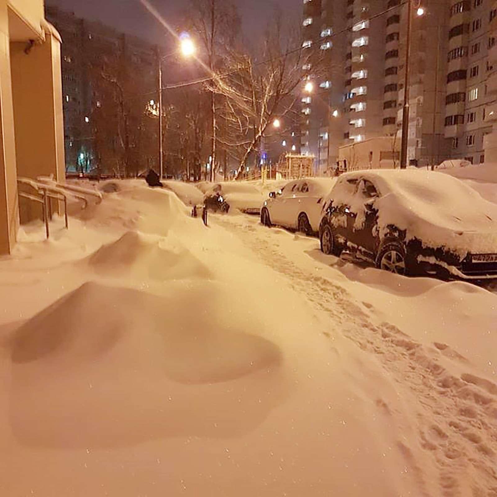 «Снегопад века»: как вМоскве пережили первый катаклизм года— фото 842113