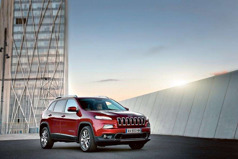 The all-new 2014 Jeep Cherokee Limited is the first mid-size SUV