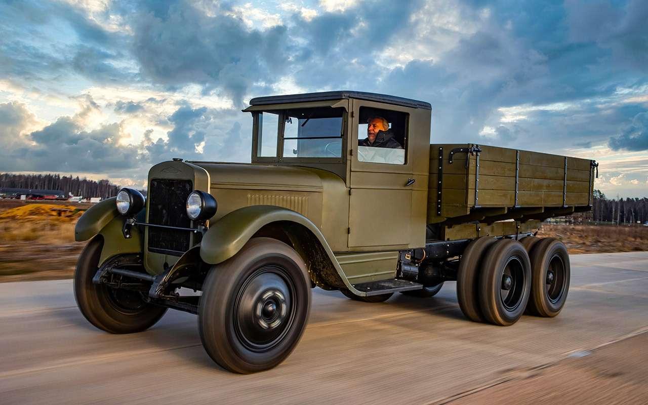 Машины Победы: ретротест настоящих фронтовых грузовиков— фото 1121601