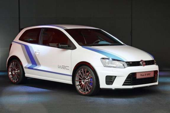 Volkswagen Polo R WRC Street Concept side-front view