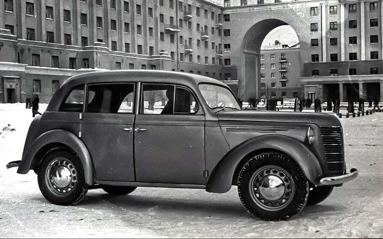 Юбилей первого Москвича: явное итайное— фото 681732