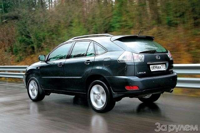 ТЕСТ: Lexus RX300и Lexus RX400h. Контакт высокого напряжения— фото 61233
