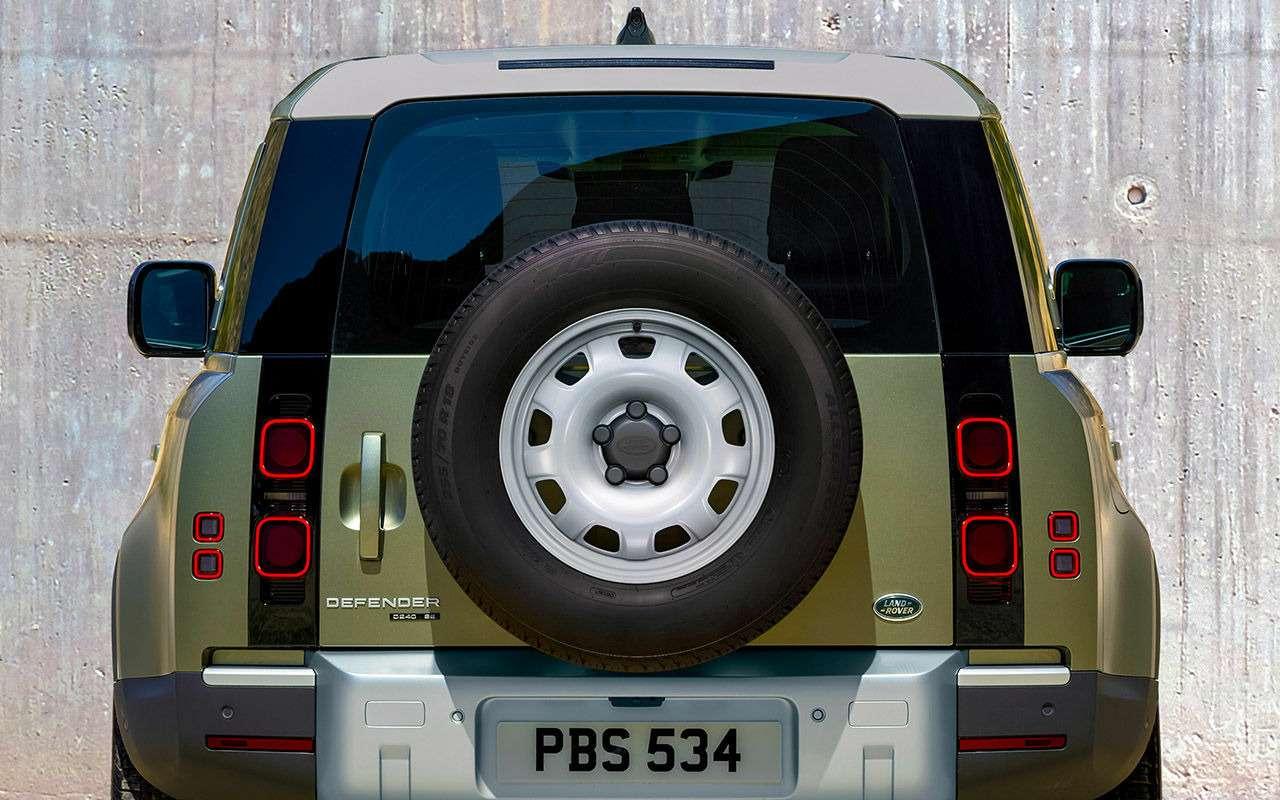 Новый Land Rover Defender: перечисляем главные отличия— фото 998223