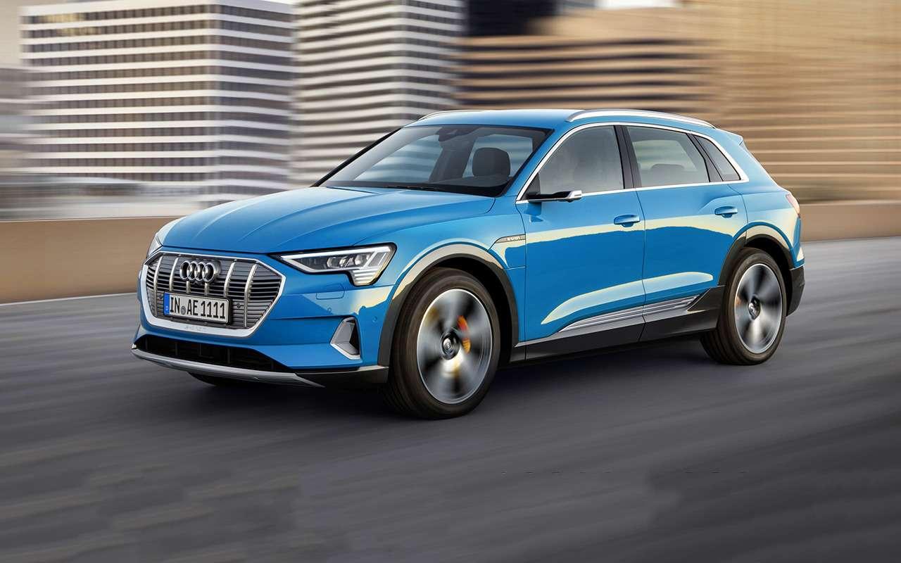 15фактов оE-Tron— первом электрокроссовере Audi— фото 905805