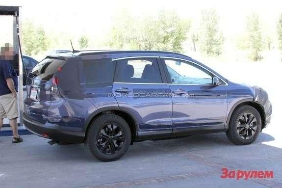 Next Honda CR-V side-rear view