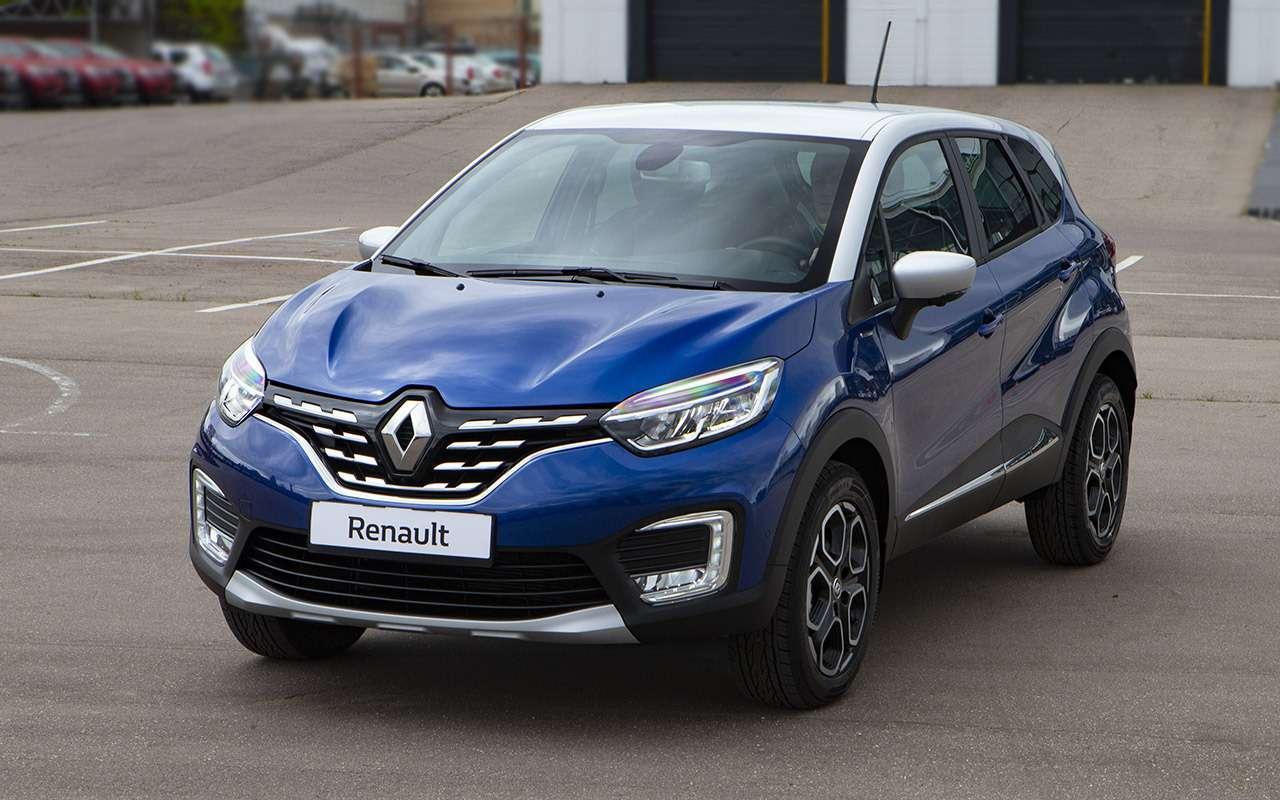 9 неудобных вопросов кобновленному Renault Kaptur— фото 1125452