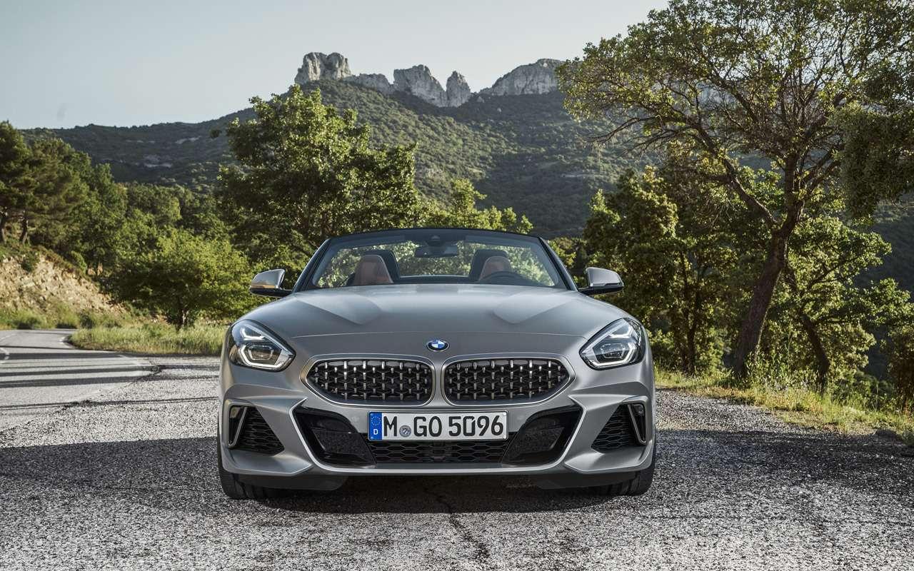 Новый BMW Z4: российские цены икомплектации— фото 908914