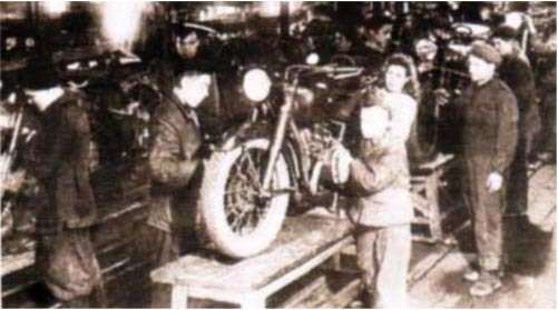 Производство мотоциклов вИрбите