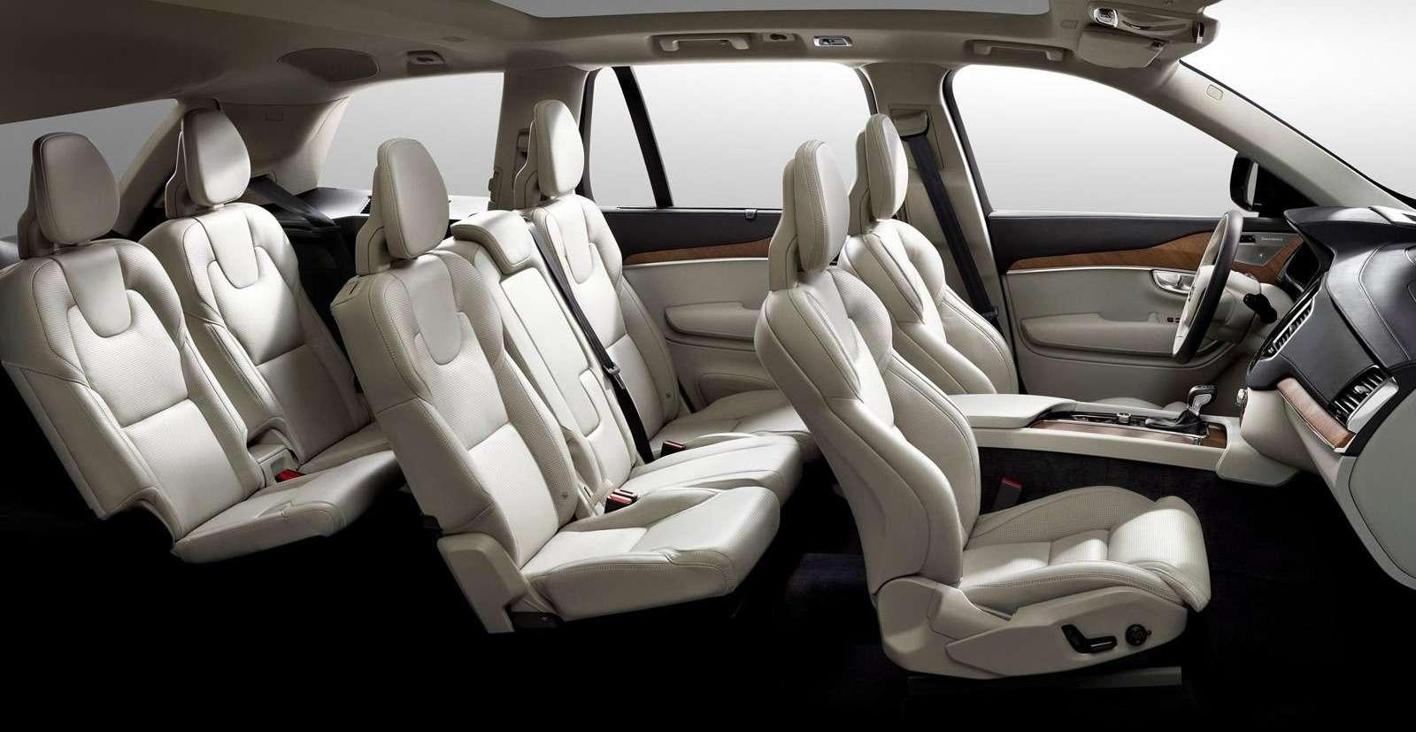 Интерьер нового Volvo XC90