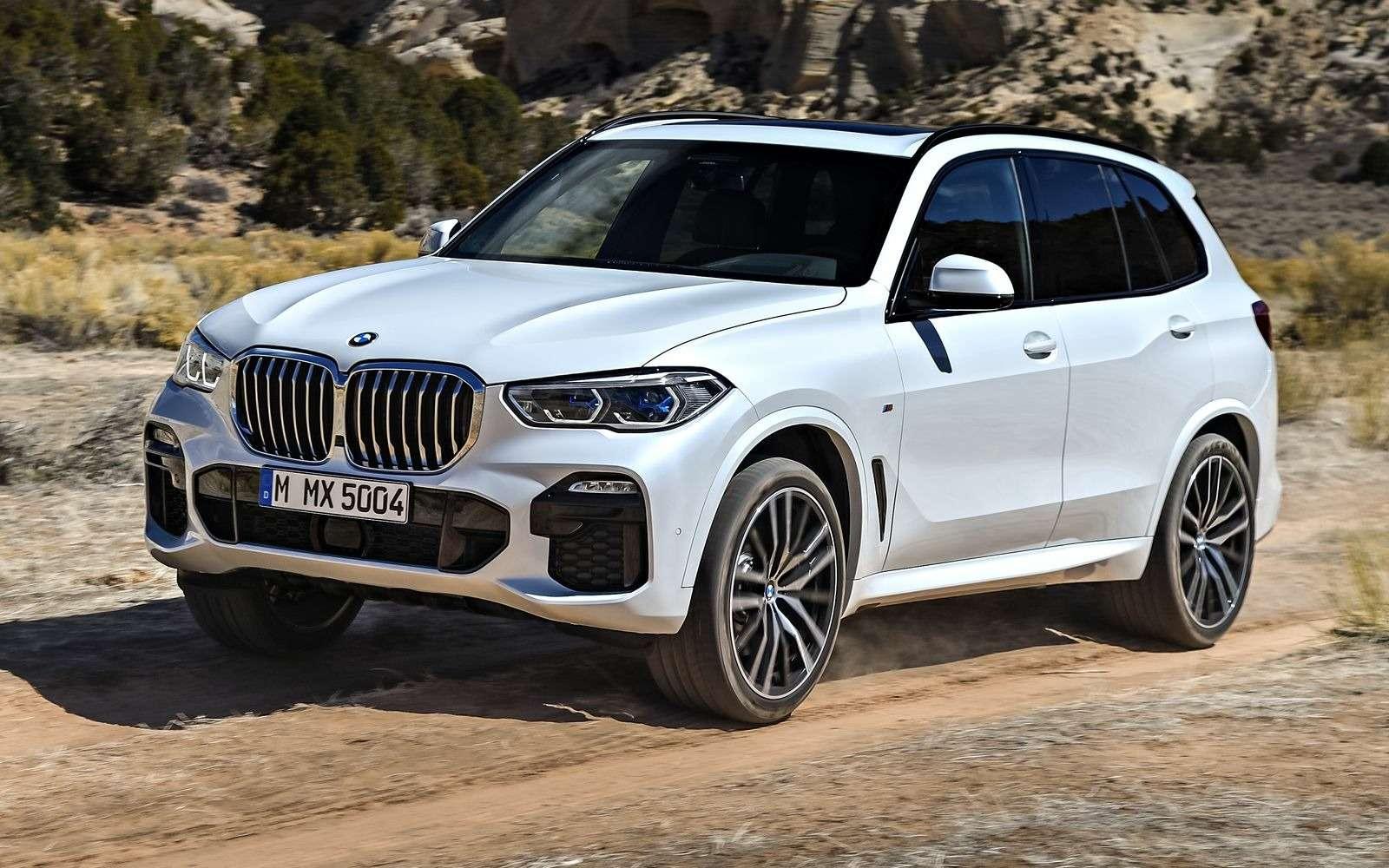 Новый BMW X5: приборная революция!— фото 876636
