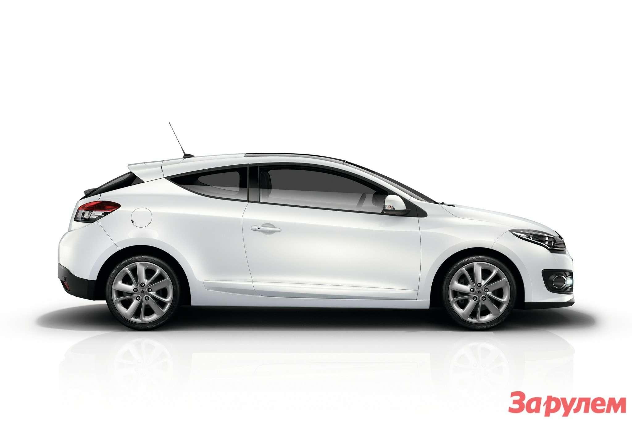 Обновленный Renault Megane Coupe