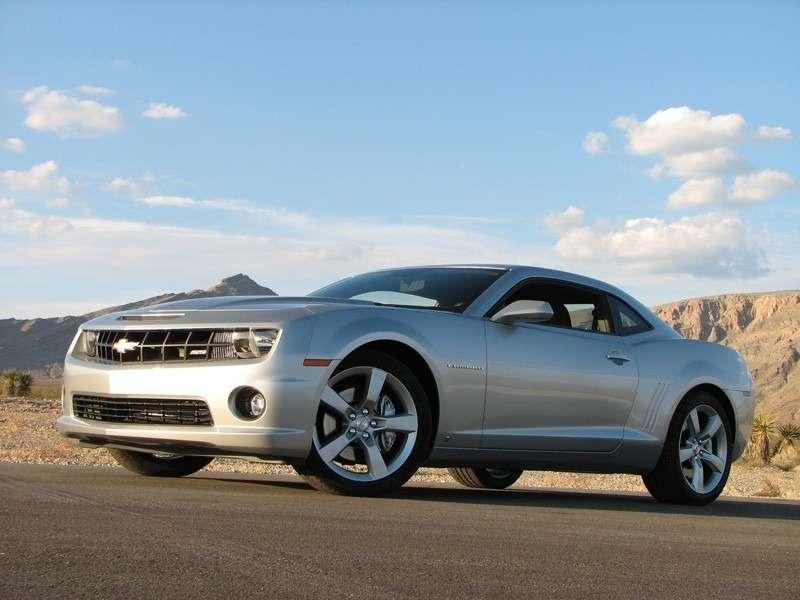 Появились официальные фото Chevrolet Camaro SS— фото 347920