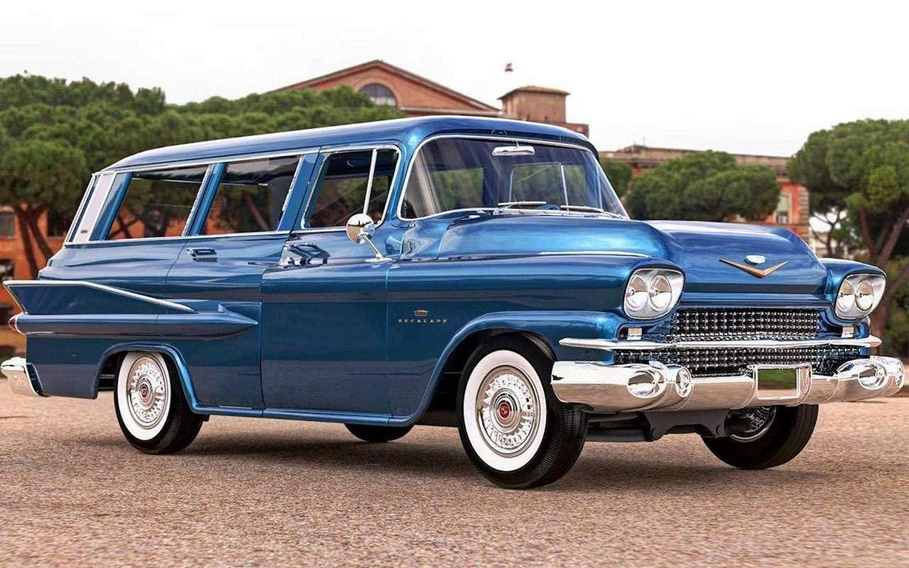 Cadillac Escalade 60лет назад: странная автофантазия— фото 1133755