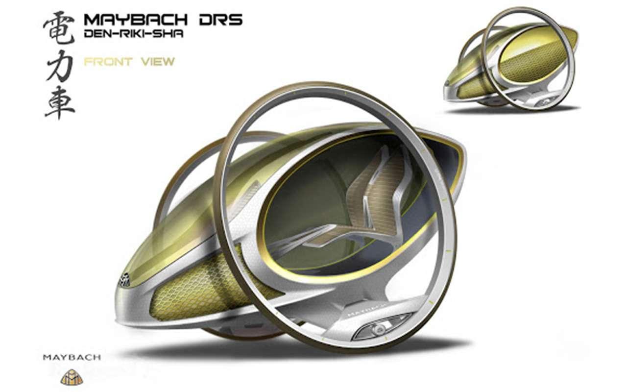 Pivo, Mini XXL, Maybach-рикша иеще 7удивительных концепткаров— фото 1120530