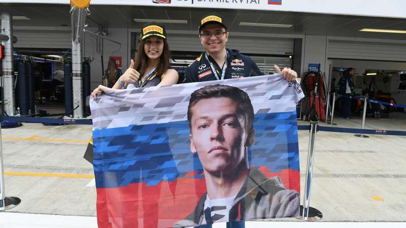 Даниил Квят, Гран-при Испании, Формула-1, Гран-при России
