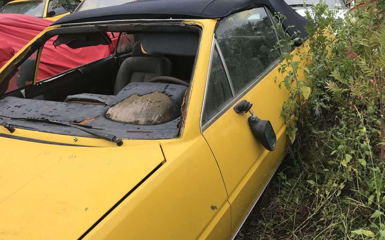 Кладбище забытых Ferrari— грустная история коллекционера— фото 975777