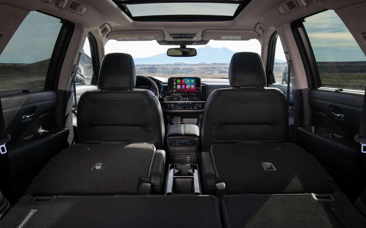 Новый Nissan Pathfinder— скоро вРоссии— фото 1221276