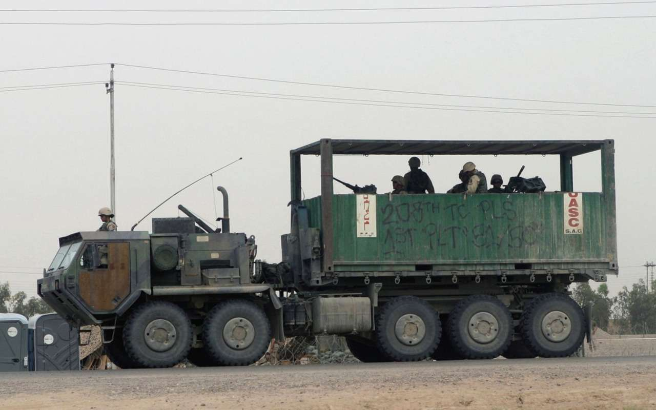 Грузовики боевого назначения: гантраки вАфгане, Украине иСирии— фото 911492