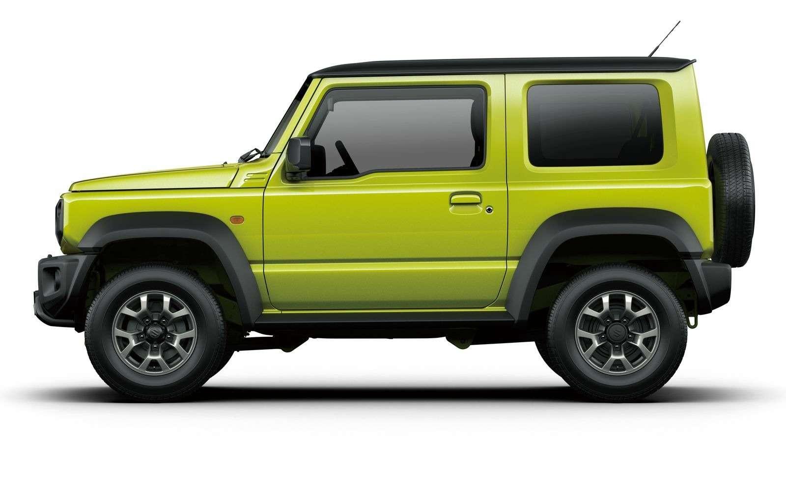 Новый Suzuki Jimny: объявлены технические характеристики— фото 884461