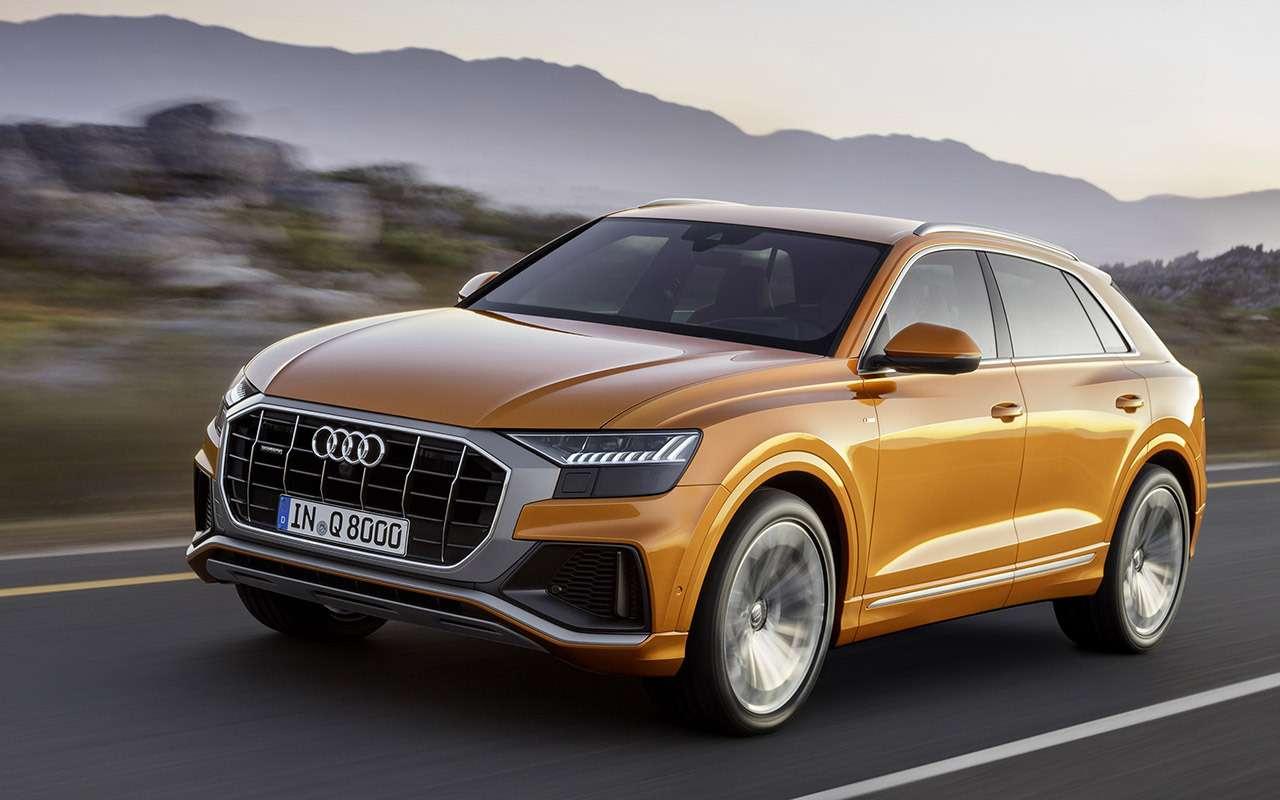 Новый Audi Q8: когда восемь меньше семи— фото 882151