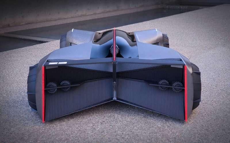Концепт Nissan G-R водят лежа наживоте