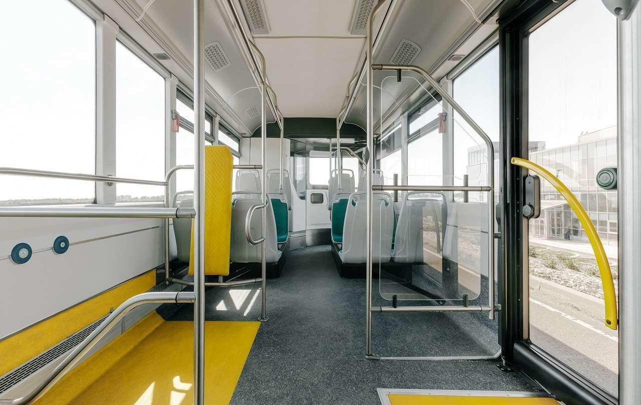 Суперсовременный городской автобус Volgabus— первые фото— фото 1254221